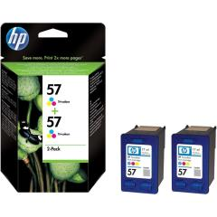 Sada originálních cartridge HP č. 57 (C9503AE)