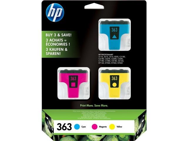 Sada originálních cartridge HP č. 363 (CB333EE)