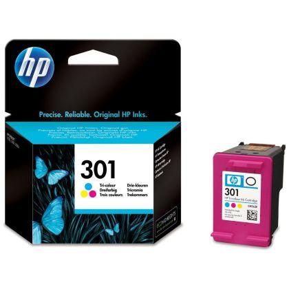 Originální cartridge HP č. 301 C (CH562EE) (Barevná)
