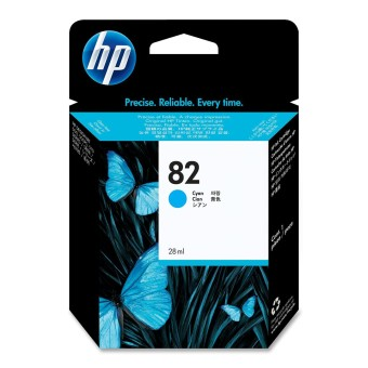 Originální cartridge HP č. 82 (CH566A) (Azurová)