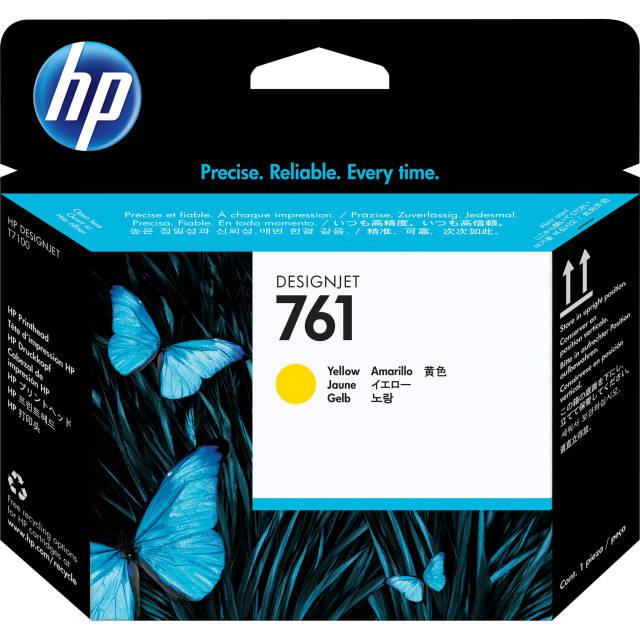 Originální tisková hlava HP č. 761 (CH645A) (Žlutá)