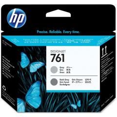 Cartridge do tiskárny Originální tisková hlava HP č. 761 (CH647A) (Šedá, tmavě šedá)