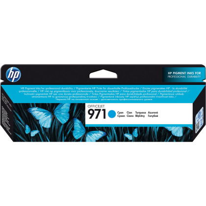 Originální cartridge HP č. 971C (CN622AE) (Azurová)