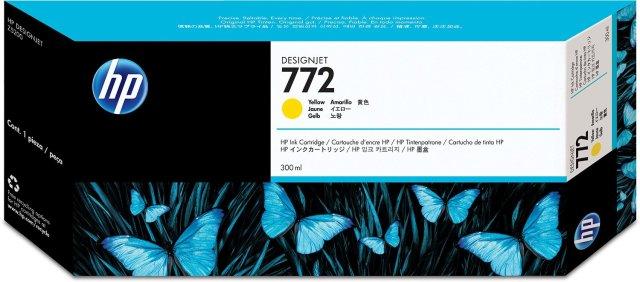 Originální cartridge HP č. 772 (CN630A) (Žlutá)