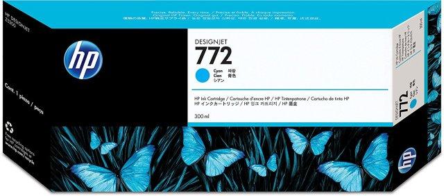 Originální cartridge HP č. 772 (CN636A) (Azurová)