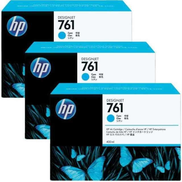 Originální cartridge HP č. 761 (CR272A) (Azurová)