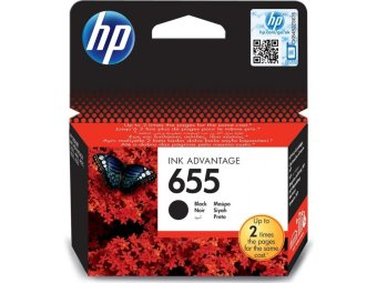 Originální cartridge HP č. 655 (CZ109AE) (Černá)