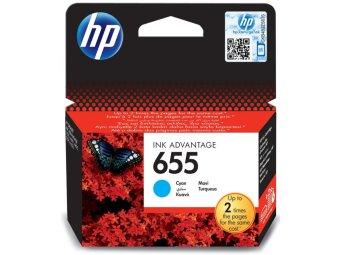 Originální cartridge HP č. 655 (CZ110AE) (Azurová)