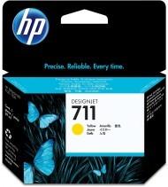 Originální cartridge HP č. 711 (CZ132A) (Žlutá)