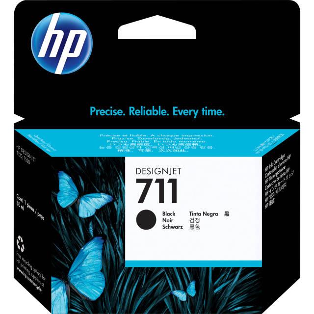 Originální cartridge HP č. 711 (CZ133A) (Černá)