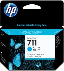 Cartridge do tiskárny Originální cartridge HP č. 711 (CZ134A) (Azurová)