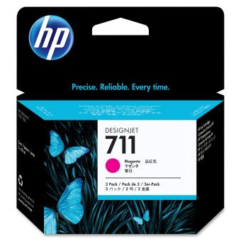 Originální cartridge HP č. 711 (CZ135A) (Purpurová)