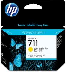 Cartridge do tiskárny Originální cartridge HP č. 711 (CZ136A) (Žlutá)