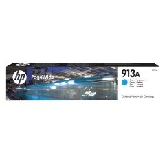 Cartridge do tiskárny Originální cartridge HP č. 913A (F6T77AE) (Azurová)