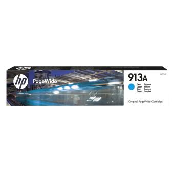 Originální cartridge HP č. 913A (F6T77AE) (Azurová)