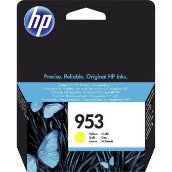 Originální cartridge HP č. 953 (F6U14AE) (Žlutá)