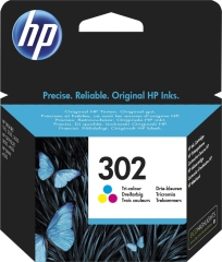 Cartridge do tiskárny Originální cartridge HP č. 302 (F6U65AE) (Barevná)