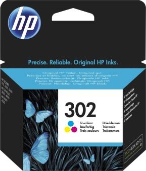 Originální cartridge HP č. 302 (F6U65AE) (Barevná)