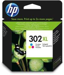 Cartridge do tiskárny Originální cartridge HP č. 302XL (F6U67AE) (Barevná)