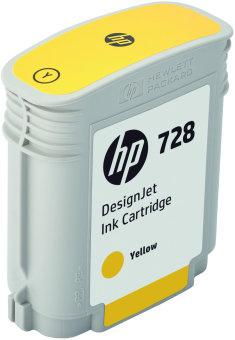 Originální cartridge HP č. 728 (F9J61A) (Žlutá)