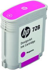 Cartridge do tiskárny Originální cartridge HP č. 728 (F9J62A) (Purpurová)