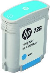 Cartridge do tiskárny Originální cartridge HP č. 728 (F9J63A) (Azurová)