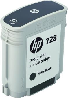 Originální cartridge HP č. 728 (F9J64A) (Matně černá)