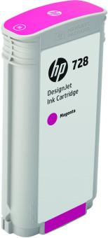 Originální cartridge HP č. 728 (F9J66A) (Purpurová)