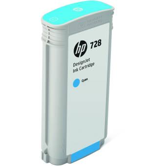 Originální cartridge HP č. 728 (F9J67A) (Azurová)