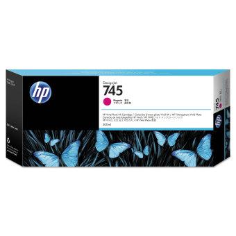 Originální cartridge HP č. 745 (F9K01A) (Purpurová)