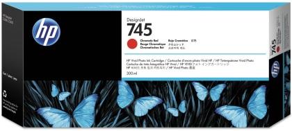 Originální cartridge HP č. 745 (F9K06A) (Chromatická červená)