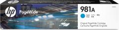 Cartridge do tiskárny Originální cartridge HP č. 981A (J3M68A) (Azurová)