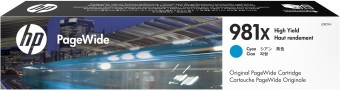 Originální cartridge HP č. 981X (L0R09A) (Azurová)