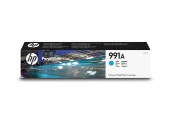 Originální cartridge HP č. 991A (M0J74AE) (Azurová)