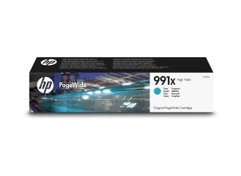 Originální cartridge HP č. 991X (M0J90AE) (Azurová)