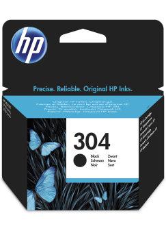 Originální cartridge HP 304 (N9K06AE) (Černá)