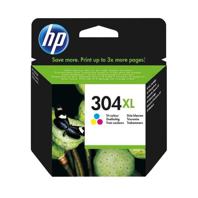 Originální cartridge HP 304 XL (N9K07AE) (Barevná)