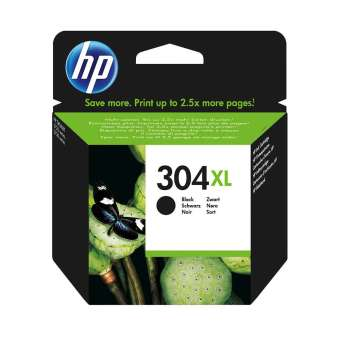 Originální cartridge HP 304 XL (N9K08AE) (Černá)