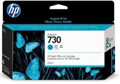 Cartridge do tiskárny Originální cartridge HP č. 730 (P2V62A) (Azurová)