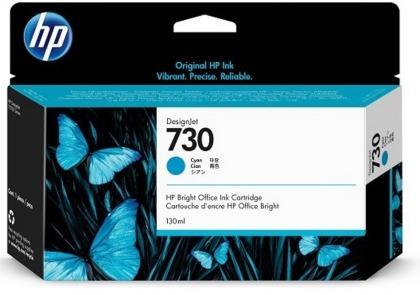 Originální cartridge HP č. 730 (P2V62A) (Azurová)