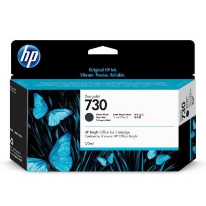 Originální cartridge HP č. 730 (P2V65A) (Matná černá)
