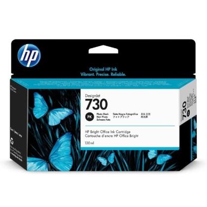 Originální cartridge HP č. 730 (P2V67A) (Foto černá)