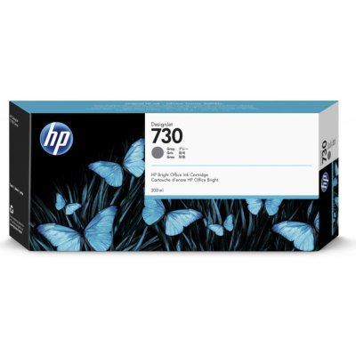 Originální cartridge HP č. 730 (P2V72A) (Šedá)