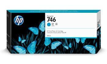 Originální cartridge HP č. 746 (P2V80A) (Azurová)