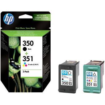 Sada originálních cartridge HP č. 350 a 351 (SD412EE)