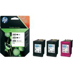 Sada originálních cartridge HP č. 300 (SD518AE)
