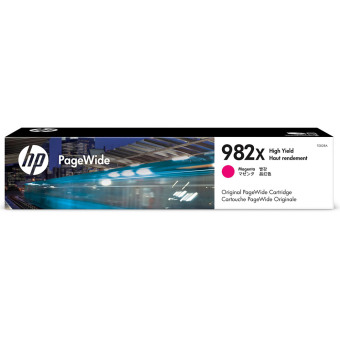 Originální cartridge HP č. 982X (T0B28A) (Purpurová)