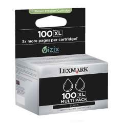 Sada originálních cartridge Lexmark 100BK XL (14N0848) (Černá)