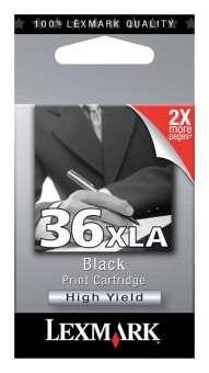 Originální cartridge Lexmark 36XL (18C2190) (Černá)