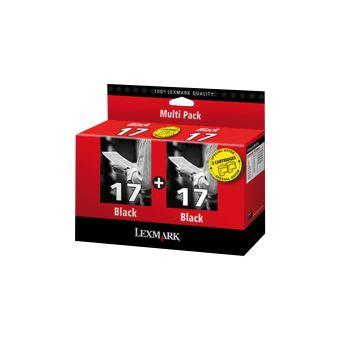 Sada originálních cartridge Lexmark 17 (80D2954) (Černá)